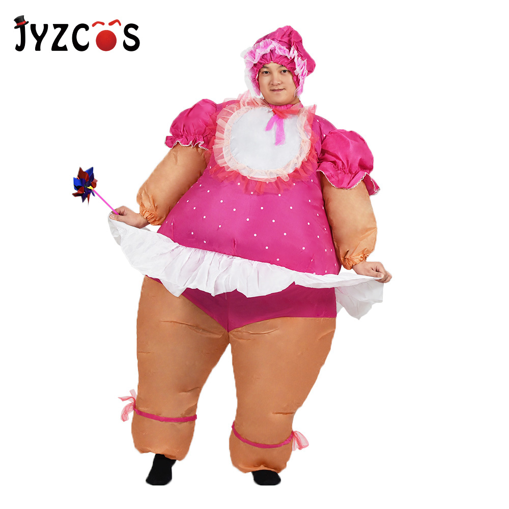 JYZCOS baby doll costume inflatable costume baby cosplay suit celebrate baby birth party fancy dress air