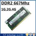 Продажа 1 ГБ 2 ГБ 4 ГБ ddr2 667 мГц pc2-5300 sodimm ноутбука ddr2 ram 2 ГБ 667 pc2 5300 so-dimm ноутбук, memoria оперативной памяти ddr2 667 2 ГБ sdram