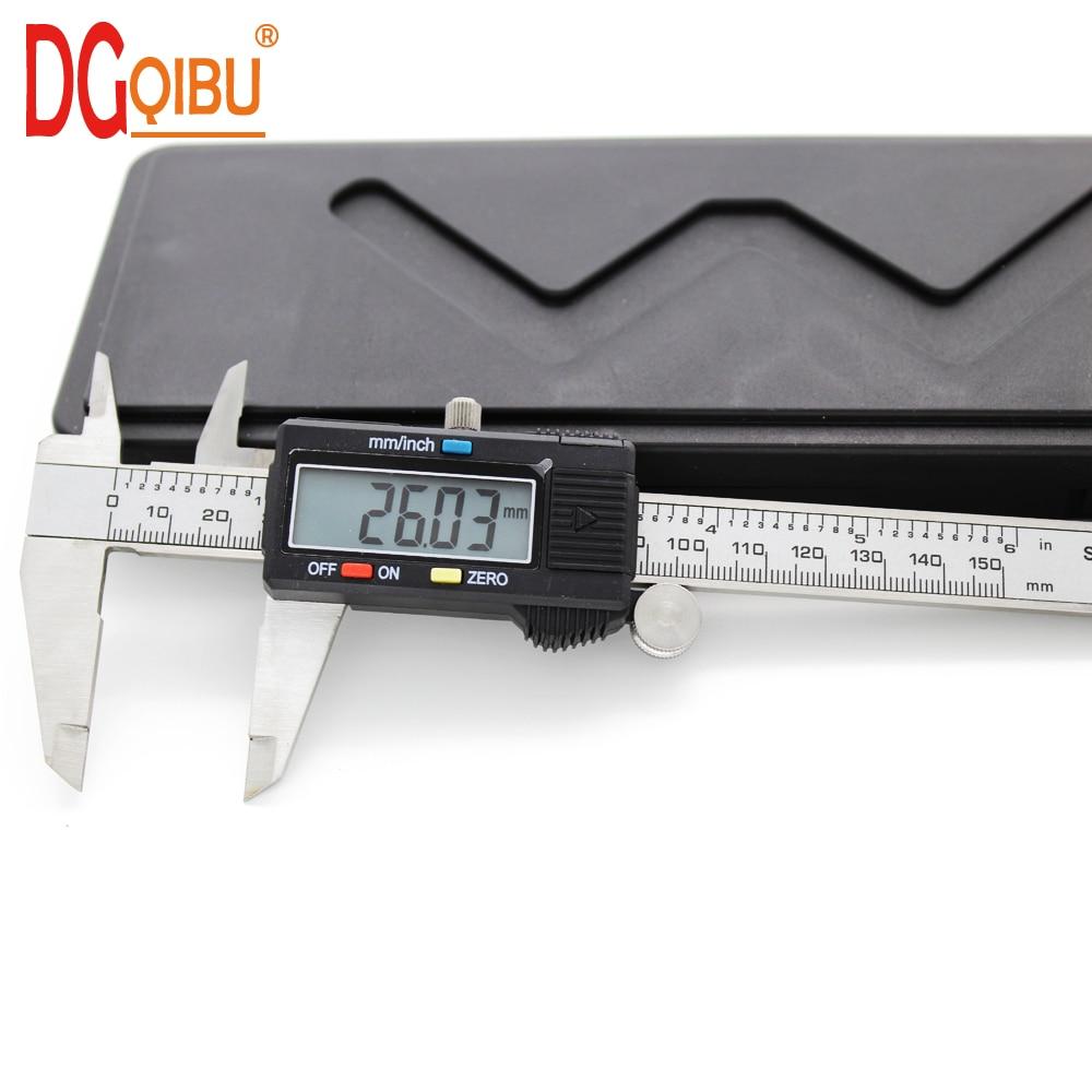 Homyl 6// 0-150mm Stainless Steel Vernier Caliper Gauge Micrometer Measuring Tool