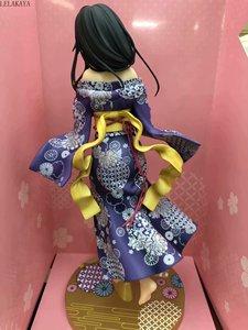 Image 5 - 1 قطعة أنيمي skytube بلدي التين كوميديا رومانسية اللخبطة Yukinoshita Yukino كيمونو البشكير فير. 1/7 PVC عمل نموذج لجسم دمية على شكل عروسة