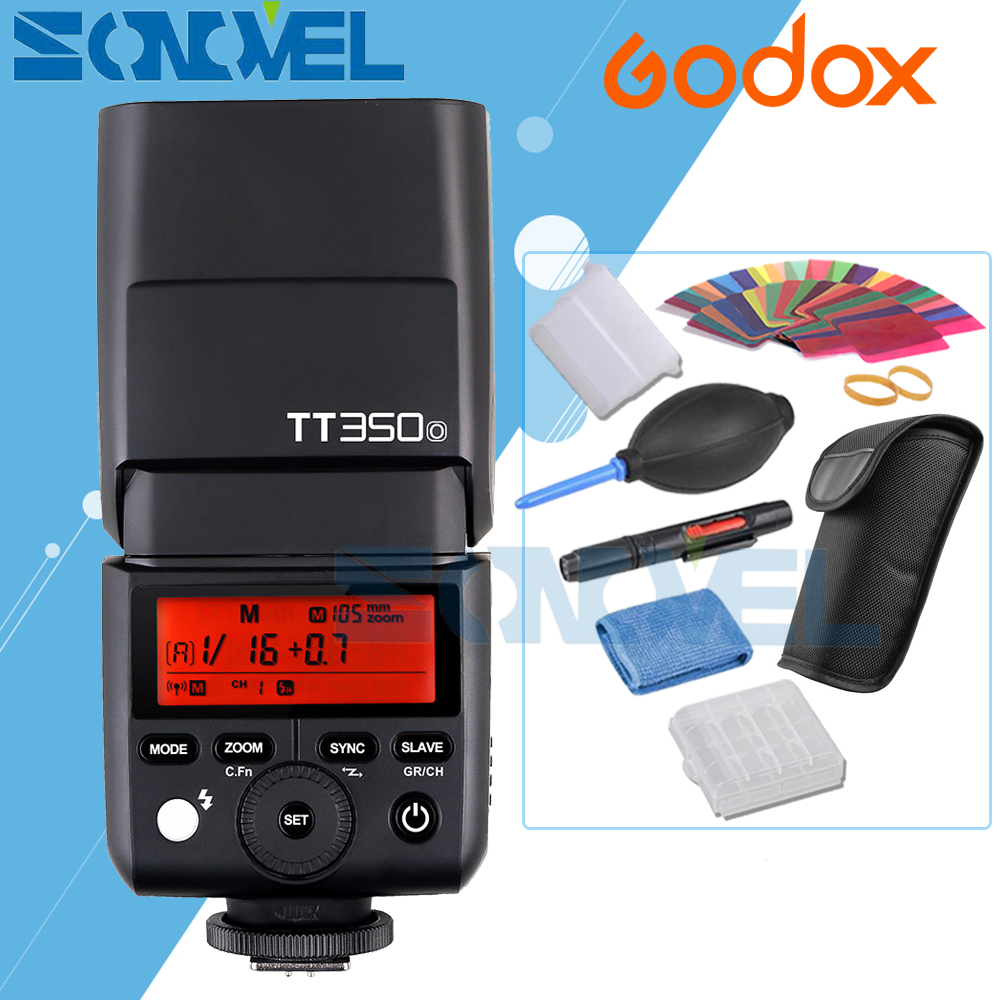 Godox TT350o 2.4G TTL HSS GN36 1/8000s Speedlite Flash for Panasonic DMC-GX85 G7 GF1 GF2 GF3 GF5 GF7 LX100 G85 GX1 GH2 GH3 GH4 newborn baby photography props infant knit crochet costume peacock photo prop costume headband hat clothes set baby shower gift page 2