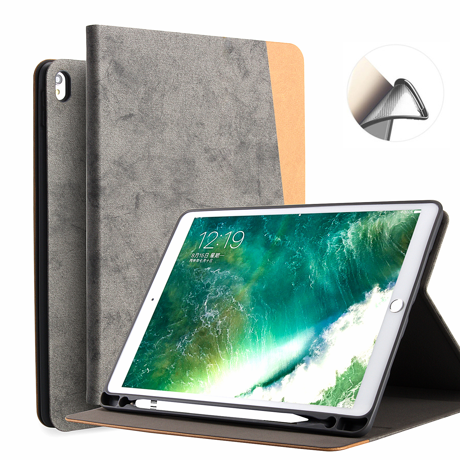 For iPad Pro 10.5 Case PU Leather Slim Smart Cover With Auto Sleep/Wake For Apple iPad Pro 10. 5 inch 2017 New цена