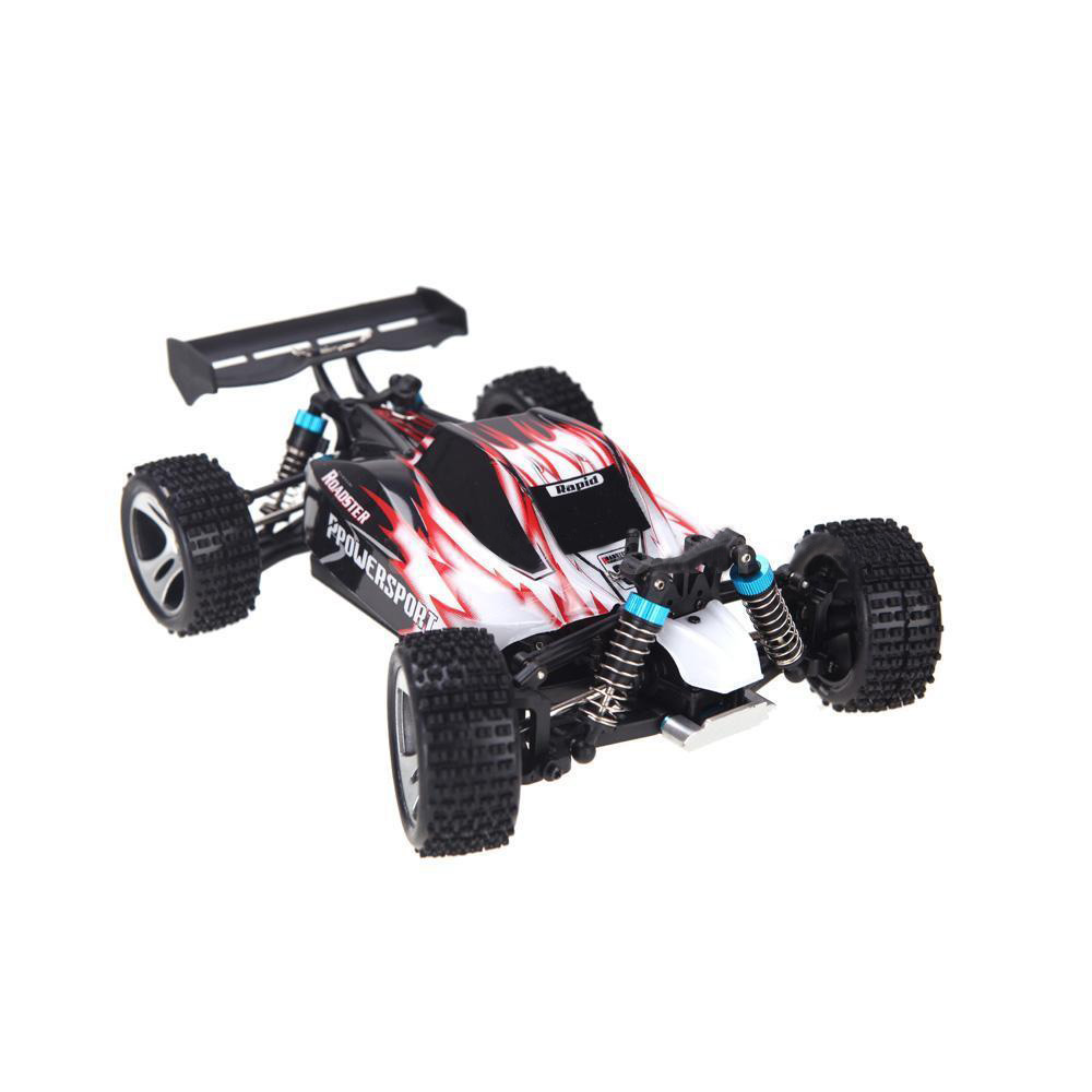 Wltoys A959 RC Car 1:18 Scale 2.4G 4WD RTR Off-Road Buggy Red
