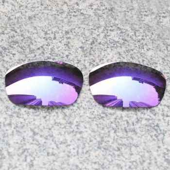E O S spolaryzowane wzmocnione wymienne soczewki do okularów Oakley Jawbone-fioletowe fioletowe lustro spolaryzowane tanie i dobre opinie Eye Opening Stuff Poliwęglan Okulary akcesoria Fit for Oakley Jawbone Frame UV400 One size inches As your choice Reduces glare and impact resistant