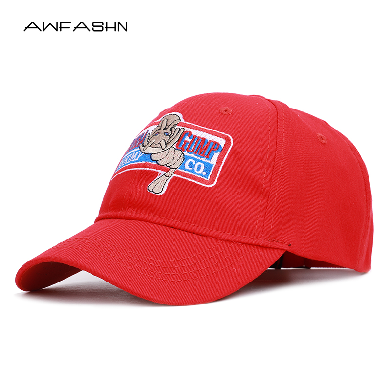 Trend Retro 1994 BUBBA GUMP SHRIMP CO.   Baseball     cap   Embroidered Summer Hat Men Women Sport Snapback Forrest Gump Costume Bone
