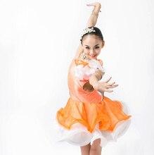 New style latin dance costumes senior spandex stones latin dance dress for women/girls latin dance dresses S-4XL