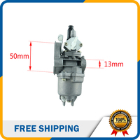 49cc Carburetor 40 6 13mm 2 Stroke Carburetor For 49cc Air Cooling Mini Pocket ATV Quads