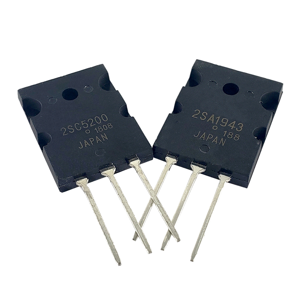 100pcs/lot 2sc5200 2sa1943 a1943 c5200 audio pair tube 50pcs 2sc5200 + 50pcs 2sa1943 TO-3P