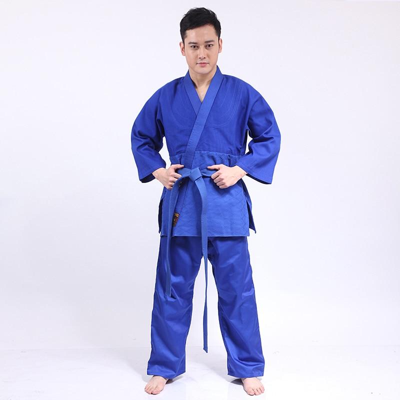 цены на New 100% Cotton Men  Judo Jiu Jitsu Gi Thick Uniform Set Clothes Clothing Pure Cotton Slub Fabrics Adults Kids Children в интернет-магазинах