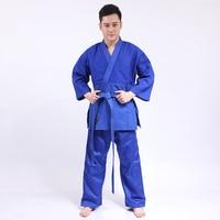 New 100 Cotton Men Kimono Judo Jiu Jitsu Gi Thick Uniform Set Clothes Clothing Pure Cotton