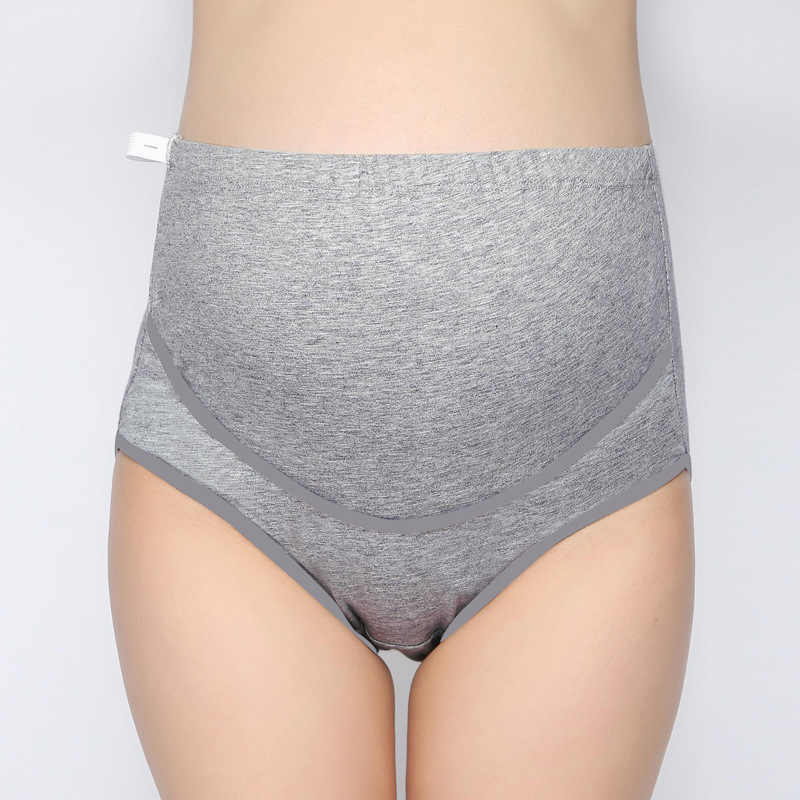 d12ff1435dbae ... 3 Pcs Lot Cotton Maternity Panties for Pregnant Women Underwear  Adjustable High Waist Belly Support ...