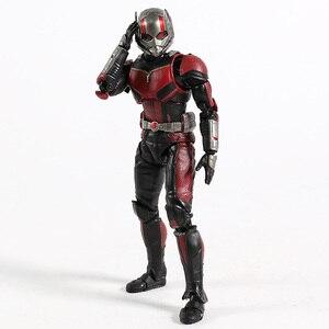 Image 4 - SHF Avengers 4 Endgame Ant Man nieskończoność wojna Antman Model postaci zabawka dla dzieci