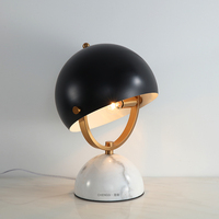 Современный прикроватный столик лампы с металлическим Marbe базы Настольная лампа для изучения Спальня жизни настольная лампа