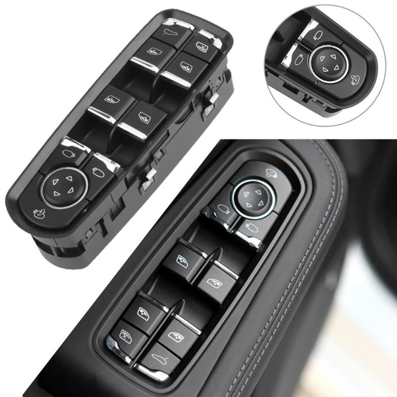 1Pcs Electric Power Window Master Control Switch for Porsche Cayenne 7PP959858H Auto Replacement Parts Car Switches High Quality