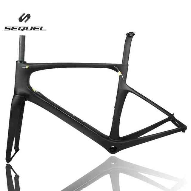 Good Quality Foil carbon bike frame internal Cabling Road Bicycle ...