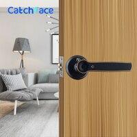 Zinc Alloy Smart Fingerprint Door Lock Waterproof Intelligent Door Lock Outdoor Electronic Stainless Door Lock For Home Hotel