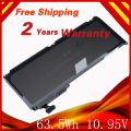 63.5Wh 10.95V Laptop Battery For APPLE A1331 A1342 MC207 661-5391 020-6580-A 020-6582-A 020-6809-A 020-6810-A For  MacBook 13""