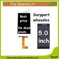 Отслеживая Номер AAA + + + Качество 1 ШТ. для huawei P7 Жк-Полный Экран + Сенсорный Экран Digitizer Тяга Для Huawei Ascend P7