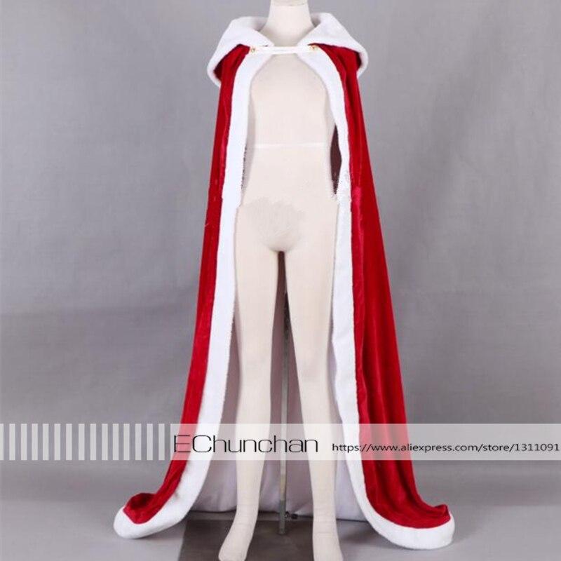 Fate Zero/stay Night Saber Cosplay Cloak  Altria Pendragon Saber/king Red Cloak Costume