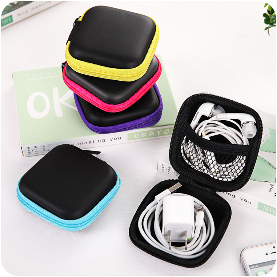 Hard Case Storage Bag Box For SD TF Card Earphone Headphone Earbuds Toy Holder