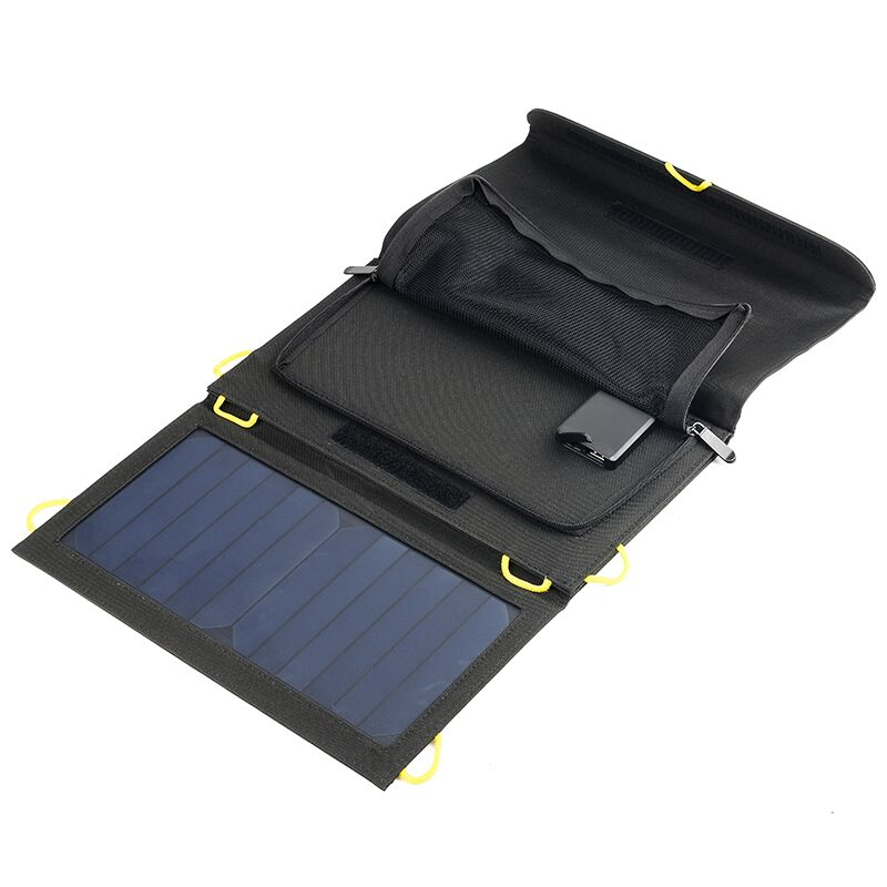 Outdoor Small Solar Bags 20W 22% high Efficiency fold Sunpower Solar Panel Charger Camping Solar PowerBank,Can buckle backpack 100w folding solar panel solar battery charger for car boat caravan golf cart