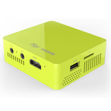 Super Mini Digital Light Processing DLP Portable Projector with 800Lumens & HDMI/Multi-Interfaces supported & Battery Built-in