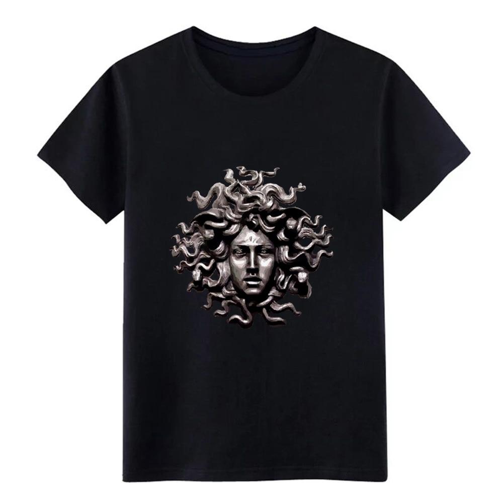 Men's Medusa T Shirt Custom Short Sleeve Euro Size S-3xl Outfit Fitness Comical Spring Autumn Slim Shirt