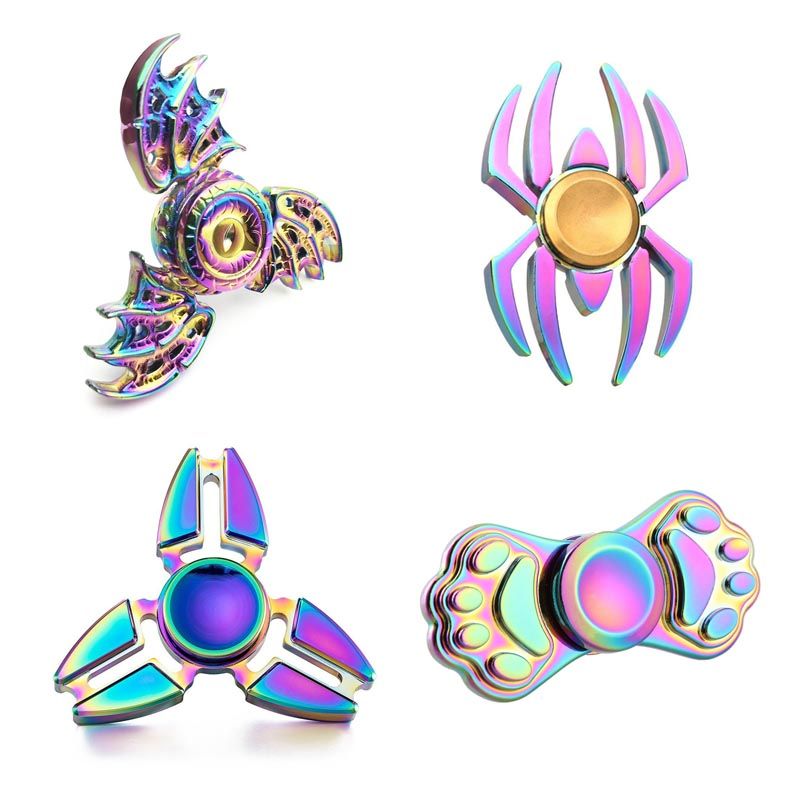 Hand Spinner Fidget Spinner Stress Cube Hand Spinners Focus And ADHD EDC Anti Stress Toys Fashion