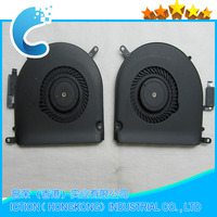 10pcs/lot Original New CPU Cooling Fan Right +Left Cooler for Macbook Pro Retina 15 A1398 Fan 2013 2014 2015 Year Full Tested!