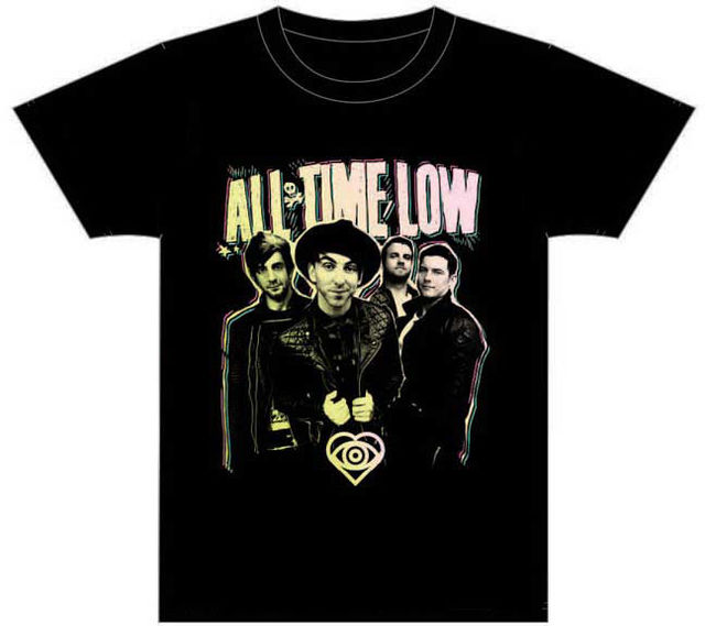All Time Low Band T Shirt Brand New Official T Shirt T