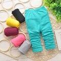 2014 nueva caída de lana ( para la altura 70 cm - 95 cm ) Girls classic Mickey de la historieta idea tocando fondo pantalones niños pantalones