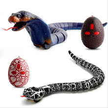 Drop Shipping Novelty Remote Control Snake Rattlesnake Animal Trick Terrifying Mischief Toy Christmas Gift