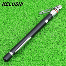 KELUSHI Free shipping 30mw Pen Style Visual Fault Locator Red Light source/Fiber Fault Finder Test Tool
