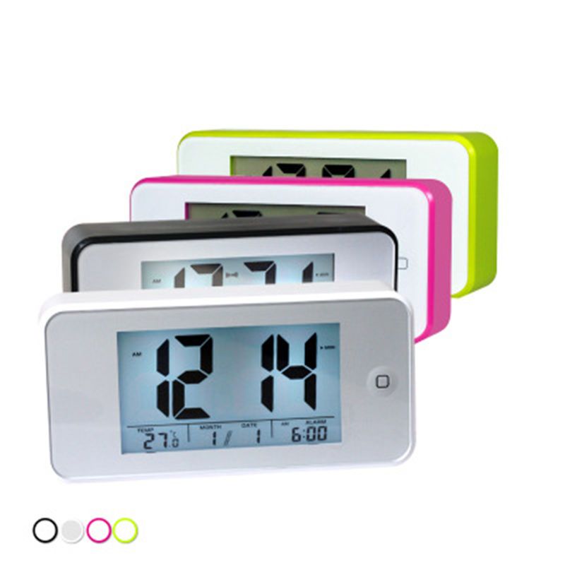 Blue Backlight Digital Alarm Clock Electronic Desktop Clock Table Led Clock Watch Snooze Reloj Computer Cables & Connectors