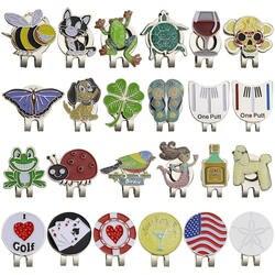 Новое поступление гольф-маркер w зажим для шляпы для гольфа магнитный сплав значок для гольфа для мяча для гольфа Спорт Прямая доставка