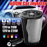 Portable USB 150w Car Power Inverter AC220V Car Voltage Power Converter with Circuit Protection for Tailgating Traveling Boating