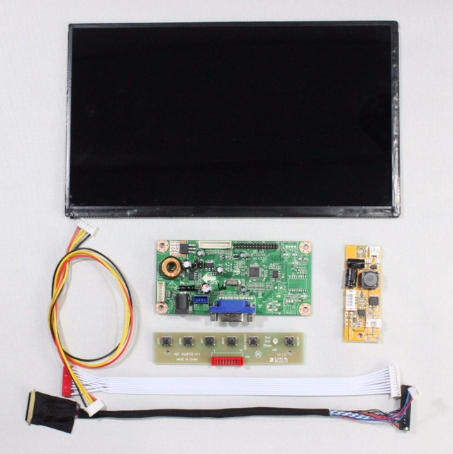 VGA LCD controller board M.RT2270.1C kit with 10.1inch 1366x768 N101BCG-L21 IPS LCD Screen Panel