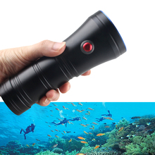 3 Mode Strong lights Diving Flashlight Waterproof 100m 10W L2 LED White torch Rechargeable for 18650 Outdoor diving flashlight цена