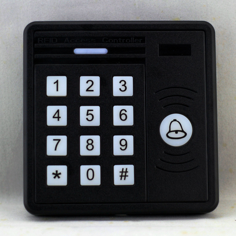 RFID 125KHz Keypad Single Door Stand-alone Access Control with 1000 Users for Outdoor and Indoor Wiegand 26 bit I/O