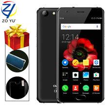 Oukitel оригинальный смартфон 4 г android 6.0 мобильный телефон 2 ГБ + 16 ГБ mtk6737 quad core отпечатков пальцев id 5.0 hd 4100 мАч 13.0mp телефон