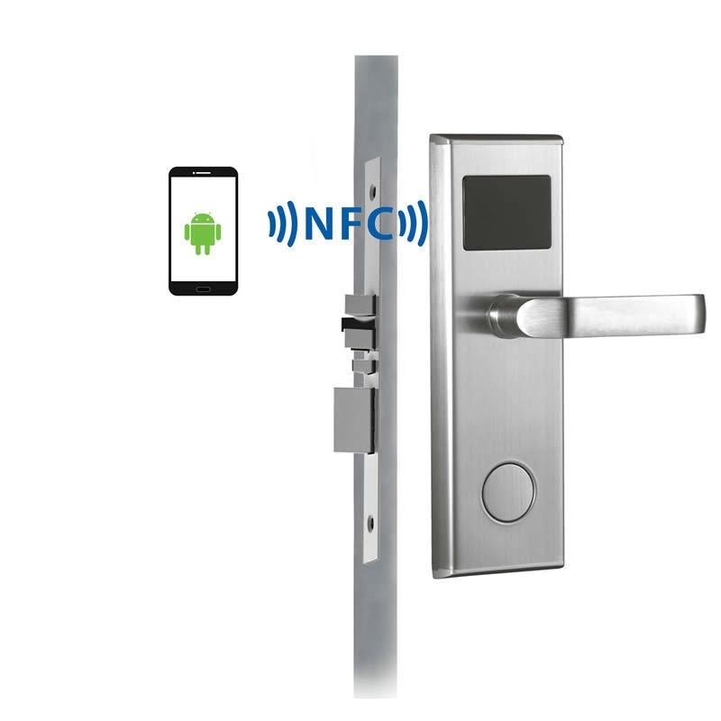 Mobile phone remote control smart locks Electronic door locks castle ...