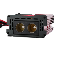 600W Car Auto Power Inverter Converter DC12V to AC220V USB Charger Adapter