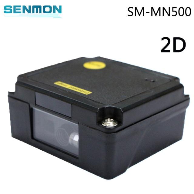 USB/RS232 1D/2D לייזר ברקוד סורק מודול מיני נייד כף יד לייזר הברקוד מוטבע קורא PDF417 QR קוד סורק