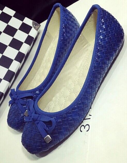Новое прибытие женская обувь мода Квартиры обувь 2A 3B 260-10 большой размер обуви Женщины квартиры удобные плоские туфли