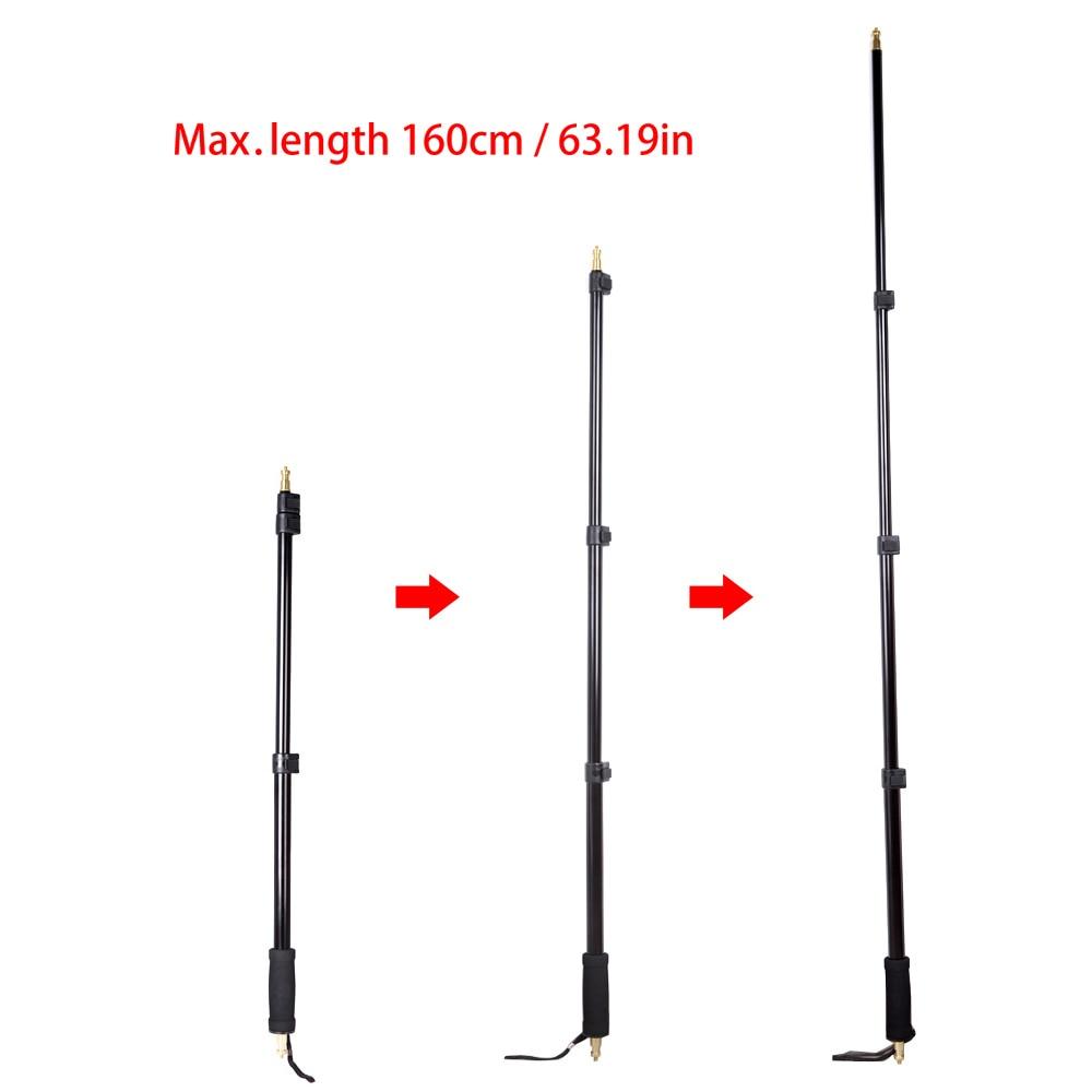 Portable Light Boom Pole