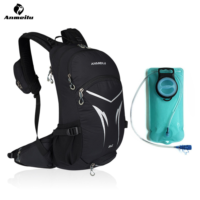 ANMEILU 2L Sports Water Bags Bladder Hydration 20L Waterproof Cycling Backpack Camping Climbing Bike Bag Sport Rucksack 2018 anmeilu 2l sports water bags bladder hydration 20l waterproof cycling backpack camping climbing bike bag sport rucksack 2018
