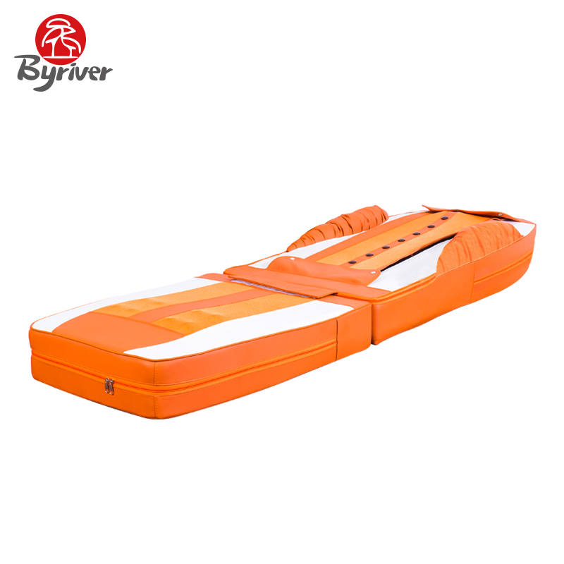 BYRIVER 7+4 Jade Stone Roller Thermal Massage Mattress Bed Table Massager