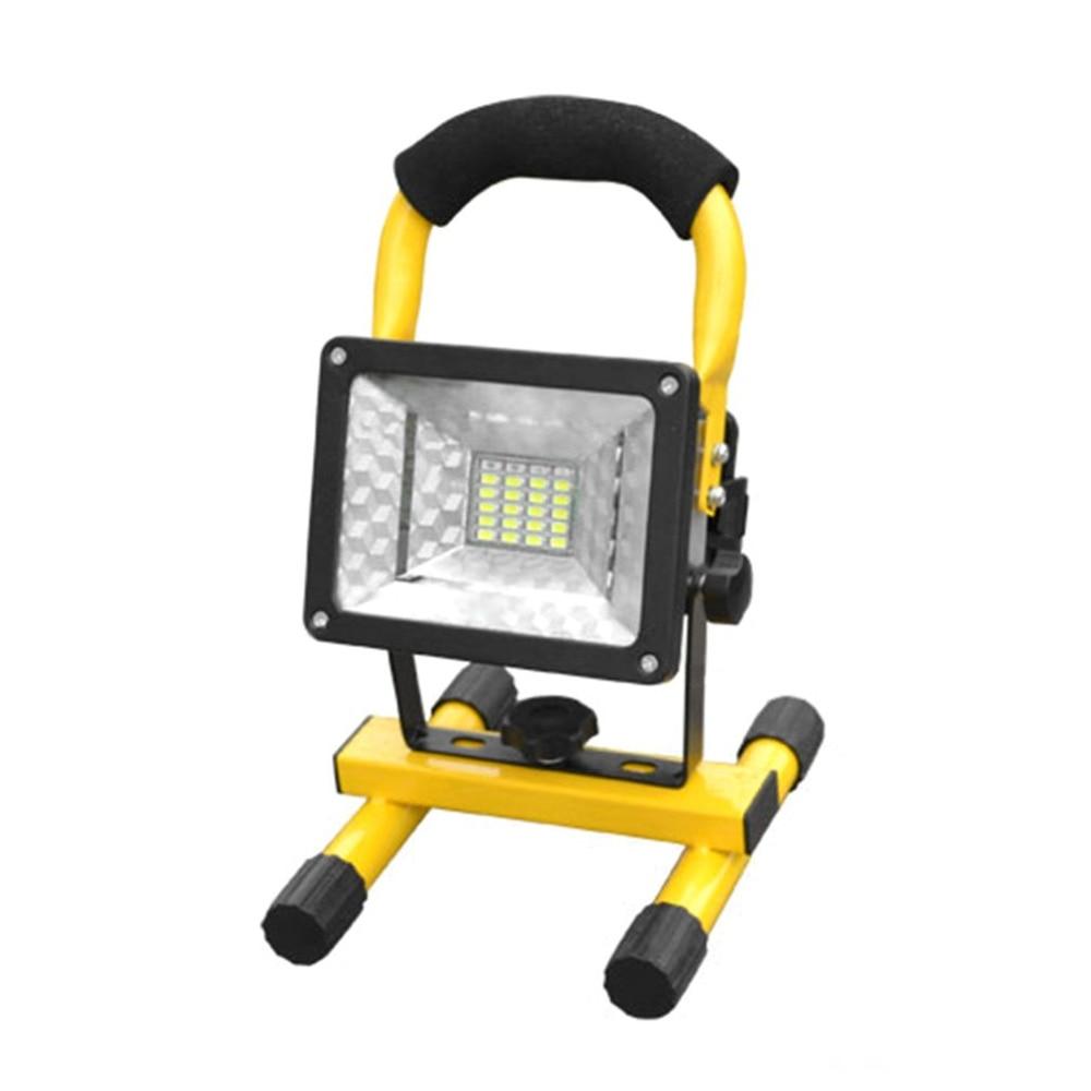 Портативные прожекторы высокое Мощность 30 Вт светодиодный Лампа проектора свет прожекторы мигает Предупреждение Водонепроницаемый поток...
