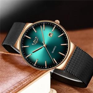 Image 3 - LIGE Sports Date Mens Watches Top Brand Luxury Waterproof Fashion Cool Watch Men Ultra Thin Dial Quartz Watch Relogio Masculino