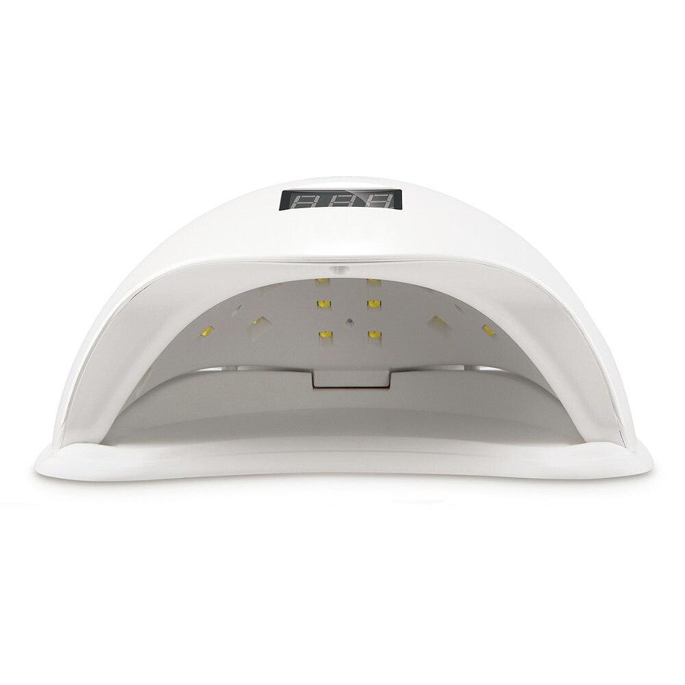 ROSALIND SUN5 48W Dual UV LED Nail Lamp Nail Dryer Gel Polish Curing Light with Bottom